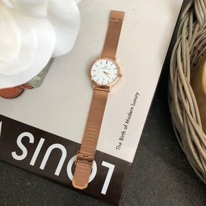 Accessories - Abbott Lyon rose gold watch
